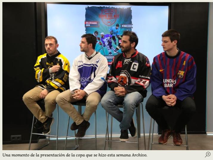 """Hockey Hielo: llegó la hora del Majadahonda con las """"semis"""" de Copa y 2 """"estrellas"""" más (Carvajal y Sánchez)"""