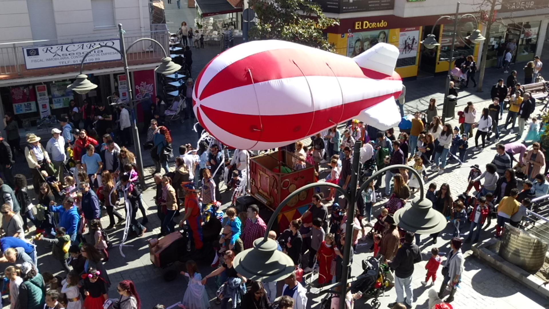 El carnaval de Majadahonda se despide con el Entierro de la Sardina