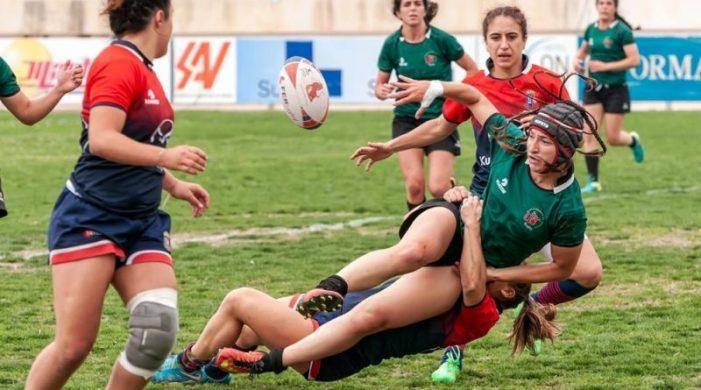 """Rugby Femenino: un """"dominante"""" CR Majadahonda en las """"semis"""" de la Liga frente a las catalanas del Hospitalet"""