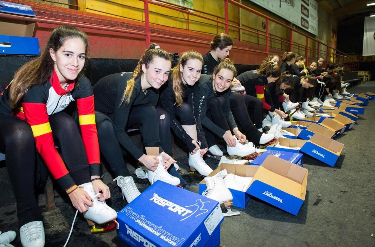 "Patinaje: la marca italiana ""Risport Skates"" se suma a los patrocinios de Team Mirum Majadahonda con las botas RF3 Pro"