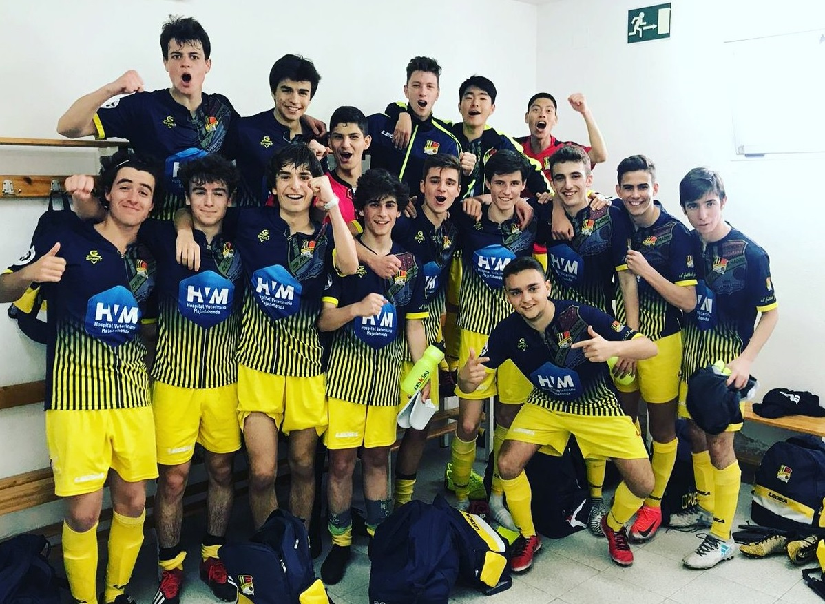 Protagonistas Fútbol: juveniles del Rayo Majadahonda, Puerta de Madrid, Afar 4, K-2 y FSF