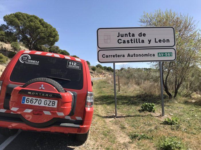 Puerta de Hierro Majadahonda asiste a otro motorista grave en las carreteras de Ávila