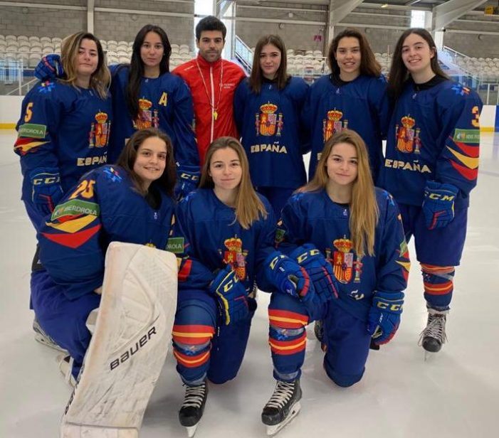 Mundial Hockey Hielo Femenino: un doblete de Vega Muñoz (Majadahonda) ante Mexico da el liderato a España