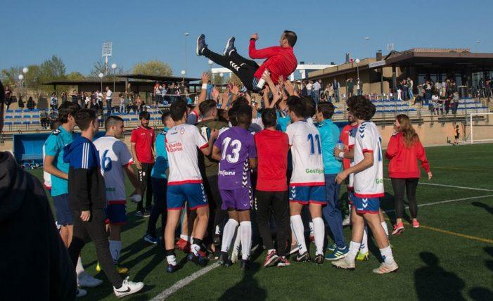 Rayo Majadahonda (Juvenil DH) festeja la salvación con un histórico empate ante Real Madrid (1-1)
