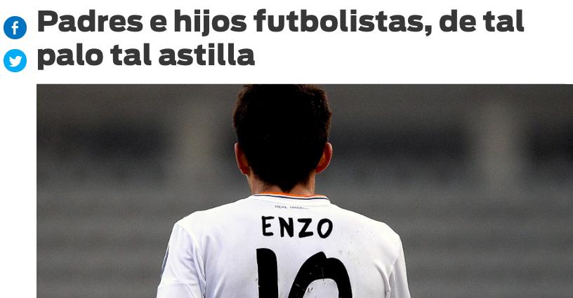 """Los """"favoritismos"""" de Zidane hacia sus hijos Enzo y Luca reabren el """"síndrome del padre futbolista"""""""