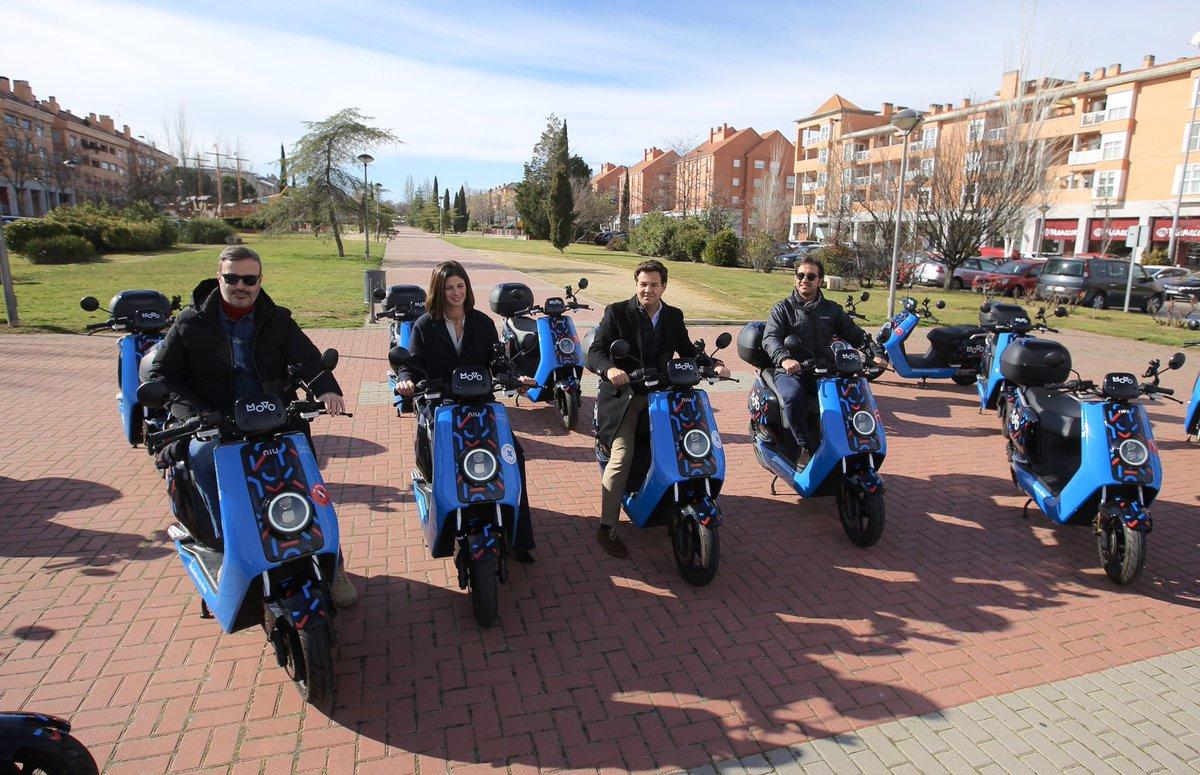 """El alquiler de motos y patinetes MOVO deja Las Rozas: """"vamos atrás de Majadahonda y Pozuelo"""""""