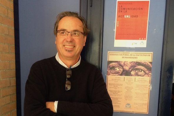"""Federico Utrera en la Universidad de Almería: """"El periodista multimedia ha cambiado su función"""""""