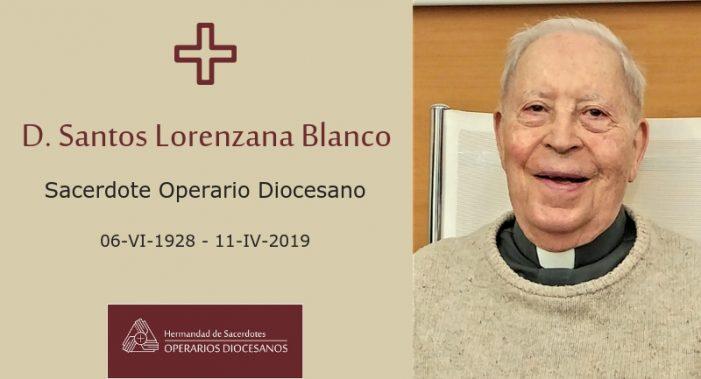 Majadahonda da el último adiós al profesor de griego y latín Santos Lorenzana, religioso de 90 años