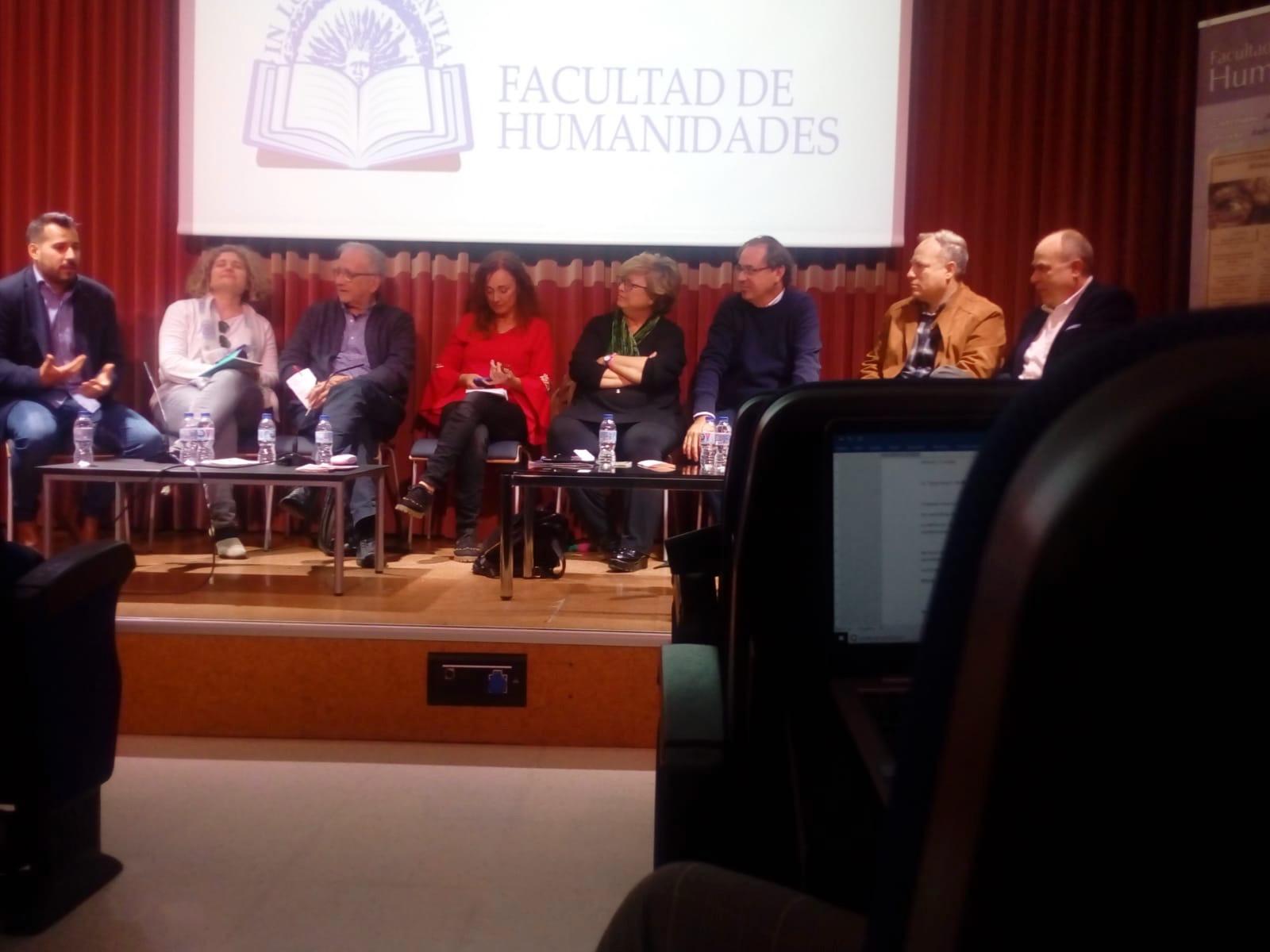 Federico Utrera y MJD Magazin en la Semana Cultural de Humanidades de la Universidad de Almería (UAL)