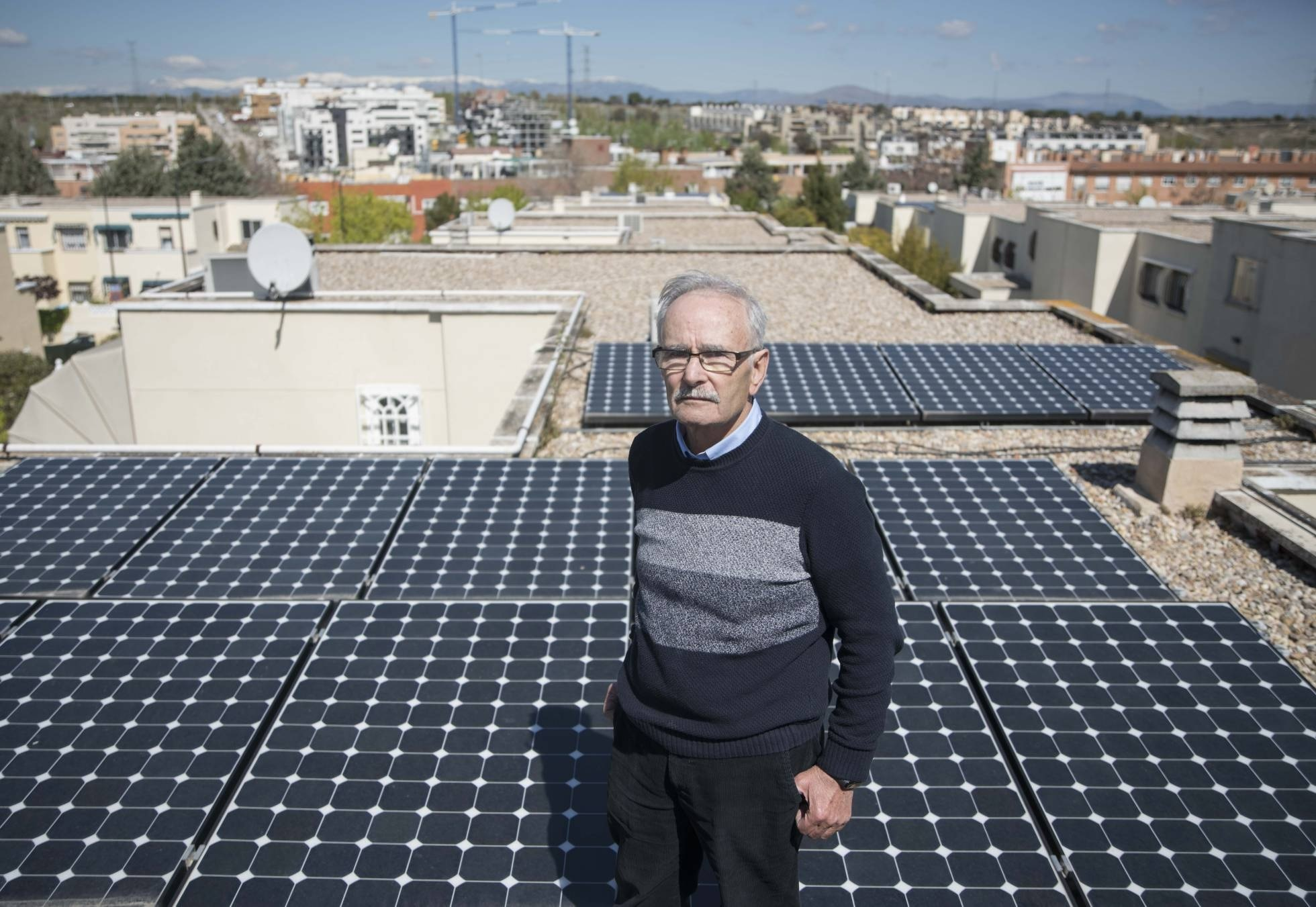 Economía Majadahonda: Paco Holguera (Energía solar) y Pastelerías Manolo