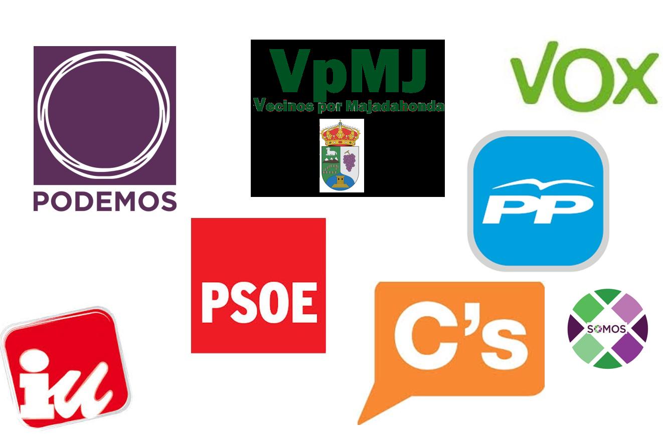 Elecciones 2019 Majadahonda: Camins (PP), Del Real (Cs), Bonet (Vecinos), Ribera (PSOE), Ortiga y Pinto (Somos)