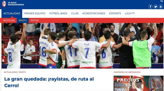 """La """"quedada"""" del club en apoyo del Rayo Majadahonda termina en violencia"""