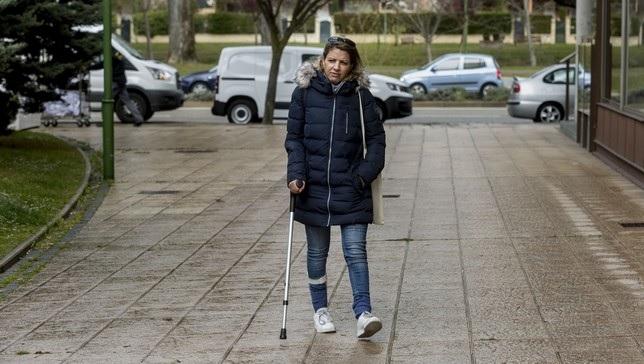 Una argelina se opera de hernia discal en Majadahonda y la dejan coja