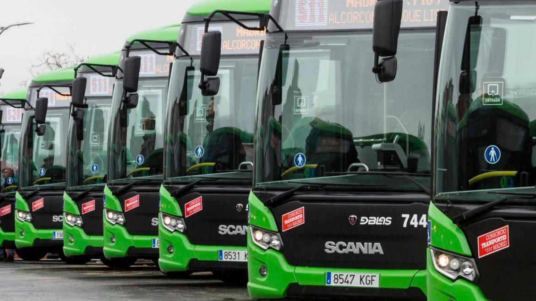 Nuevos buses a Monteclaro, El Plantío, Francisco de Vitoria, Brunete-Majadahonda y Las Rozas