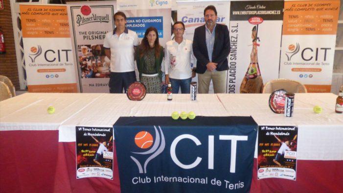 Pádel y Tenis Majadahonda: Físico trae a sus famosos contra el cáncer y CIT presenta su Torneo Internacional
