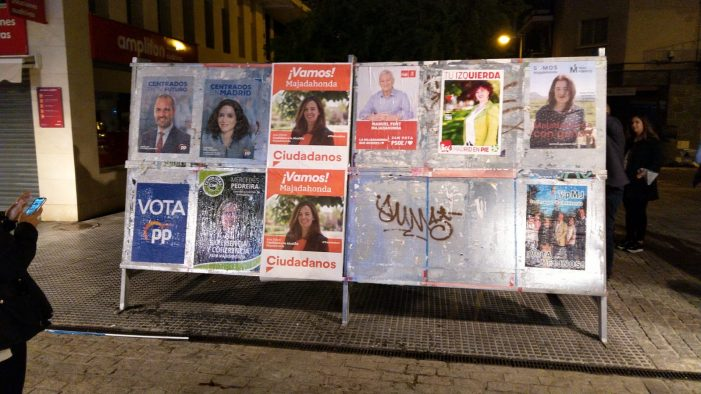 Los partidos arrancan la campaña electoral más reñida e incierta de Majadahonda