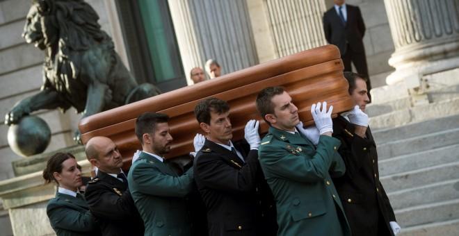 Rubalcaba será enterrado en el cementerio junto a sus padres
