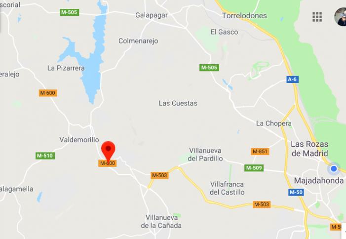 Mueren 2 jóvenes en la M-600 y otros 2 heridos en Puerta de Hierro: dieron varias vueltas de campana a las 5 de la madrugada