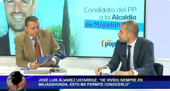 """Ustarroz (PP) acusa a Ana Elliot (Cs) de ejercer de """"paracaidista"""" en Majadahonda desde """"el pueblo de al lado"""""""