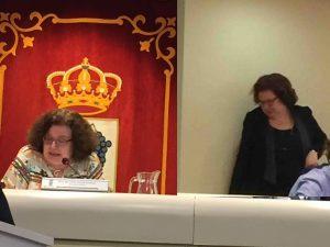 """PP-Vox descartan el """"informe Madrigal"""" (UPyD) sobre la """"Parcela Gürtel"""" en Majadahonda y aluden a la secretaria Celia Alcalá"""