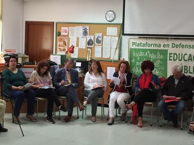 El debate sobre Educación celebrado en Majadahonda resulta fallido por el formato