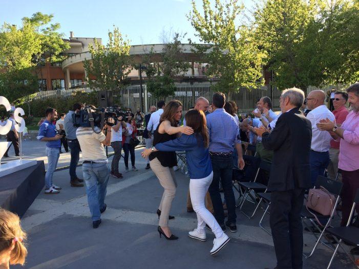 """Elecciones Majadahonda (Cs): mitin de Ignacio Aguado y Ángel Garrido con Ana Elliott y ausencia de 3 concejales """"defenestrados"""""""