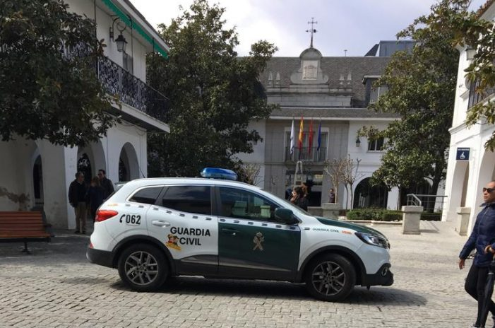 """Guardia Civil halla en Majadahonda una prueba Púnica de """"extraordinaria importancia"""""""