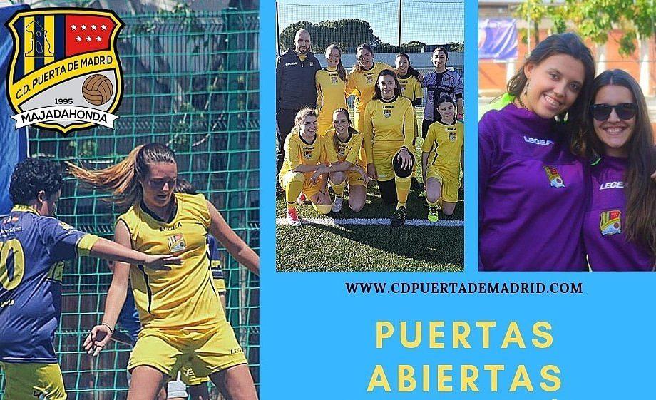 Fútbol Majadahonda: Benito Ramírez, Antonio Vilches, el triple empate a 50 y equipos femeninos (Puerta de Madrid)