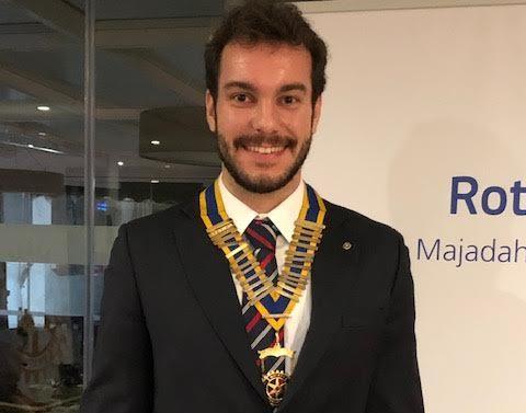 El arquitecto Iván Castro Martín (Universidades de Berkeley/Politécnica) nuevo presidente del Rotary Club Majadahonda