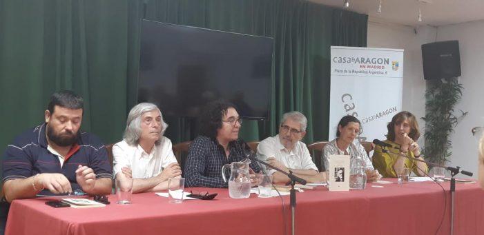 """La Casa de Aragón de Madrid acoge su último libro: """"Francisco Umbral y la Desquiciada Eufonía"""""""