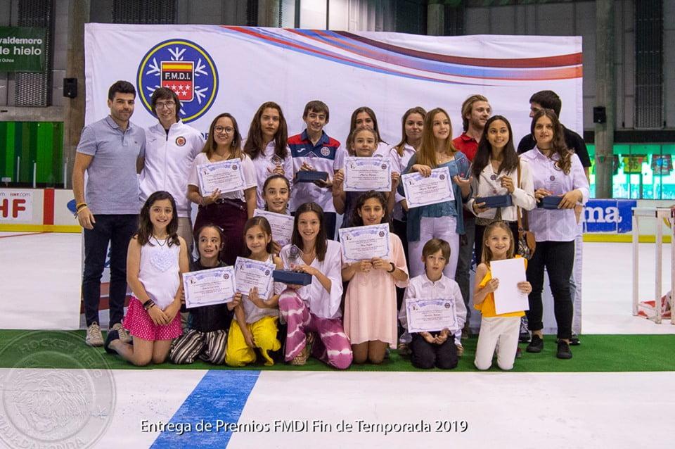 Deportes de Hielo Madrid 2019: el entrenador Juan Bravo da los perfiles de los premiados de Majadahonda