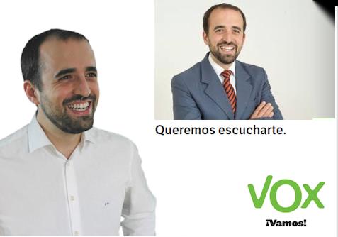 """José Rodríguez: """"Las fiestas de Majadahonda 2019 ya se coordinarán con Vox"""""""