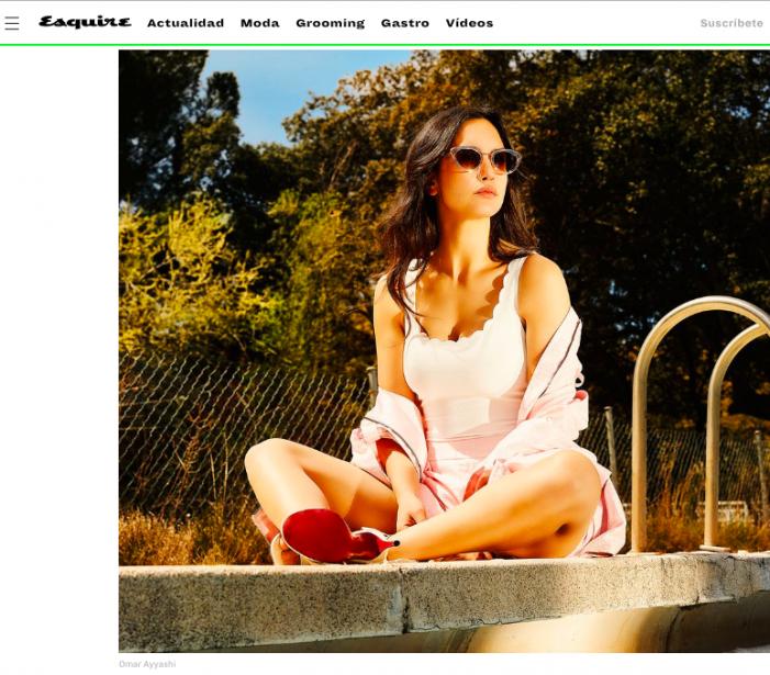 """""""Esquire"""" entrevista a Megan Montaner (Monteperdido) en Montepríncipe: confunden Boadilla y Majadahonda"""