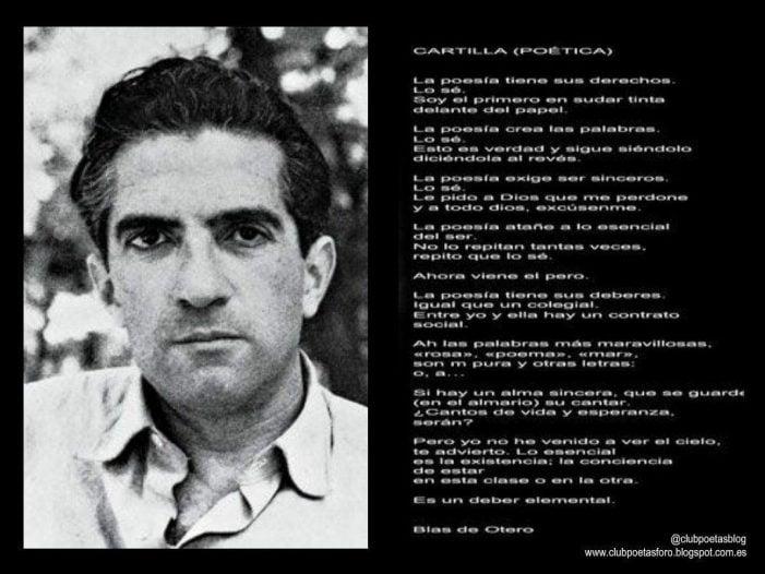 """40 años sin Blas de Otero en Majadahonda: """"me queda la palabra"""" en 20 noticias"""