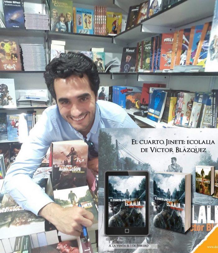 """Víctor Blázquez da la """"sorpresa"""" en la Feria del Libro 2019: vive en Majadahonda con su mujer, 3 hijos y 3 perros"""