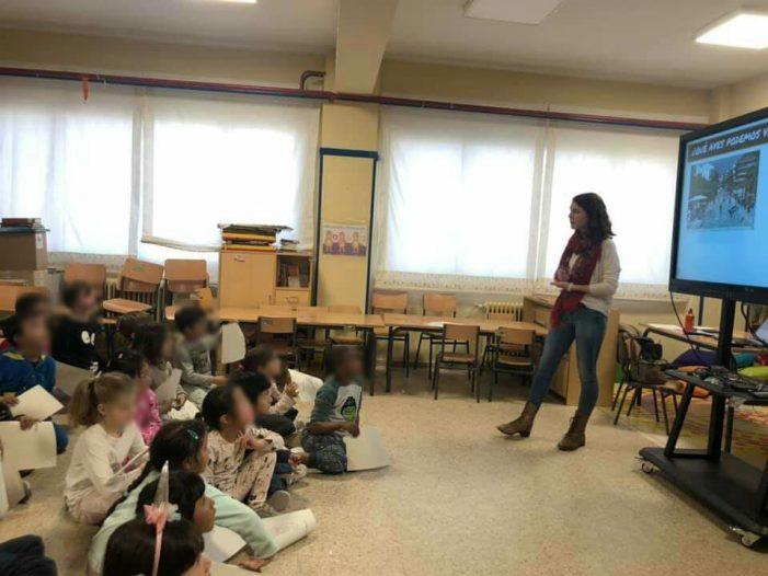"""Una alumna de Bachillerato crea una Guía de Aves de Majadahonda: """"Mis vecinos del aire"""""""