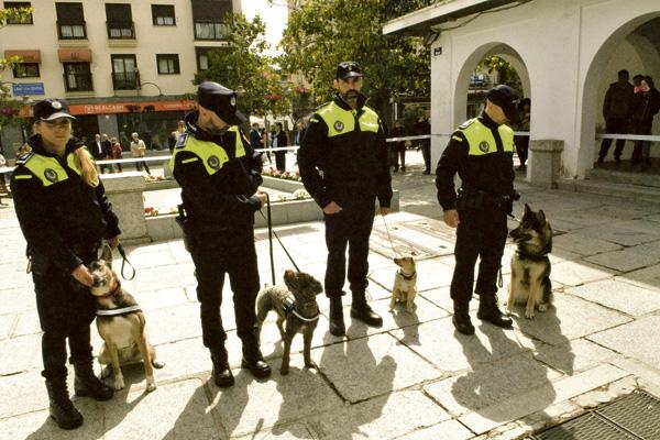 Educación Majadahonda: Fernando Varona (policía adiestrador) y 10 colegios del Oeste de Madrid (Olimpiadas del Saber)
