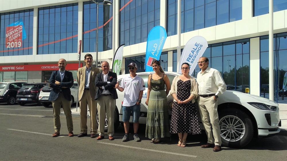 ALD Automotive presenta en Majadahonda un nuevo récord mundial Guiness: 20.300 km en coche eléctrico por toda España