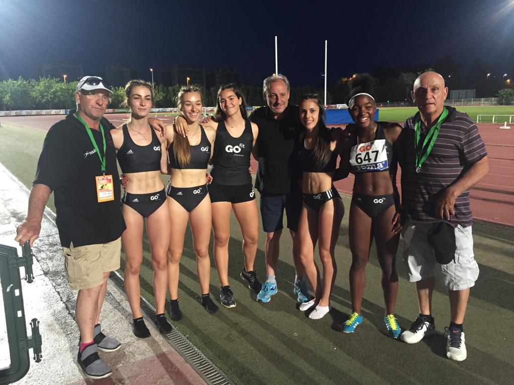 Atletismo: Majadahonda regresa de Castellón con 3 platas y 2 bronces en los Campeonatos de España Sub 18