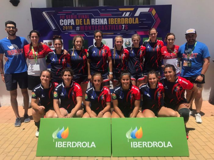 Rugby Femenino: CR Majadahonda se trae de Jerez la Copa de la Reina Seven (2019)