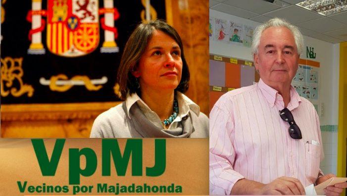 """Bonet (Vecinos por Majadahonda): """"la alcaldesa Elena Biurrun y su limitación de mandatos a 8 años es nuestro mejor espejo"""""""