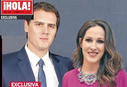 """La revista """"Hola"""" compra las fotos de la pedida de Albert Rivera y Malú por 80.000 € y no las publica"""