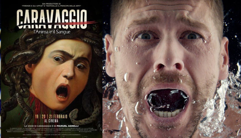 """Caravaggio """"visita"""" Majadahonda con pelo rapado interactuando con mujeres de uñas amarillas"""