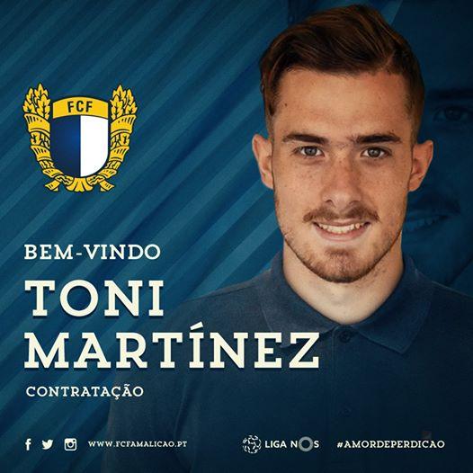 Toni Martínez sigue a Schiappacasse (Famalicão), el lateral Andrade al Rayo Majadahonda y Adri Chaves al Plasencia
