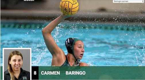 Waterpolo Majadahonda: Carmen Baringo cumple su sueño deportivo y académico en Hawai (EE.UU)