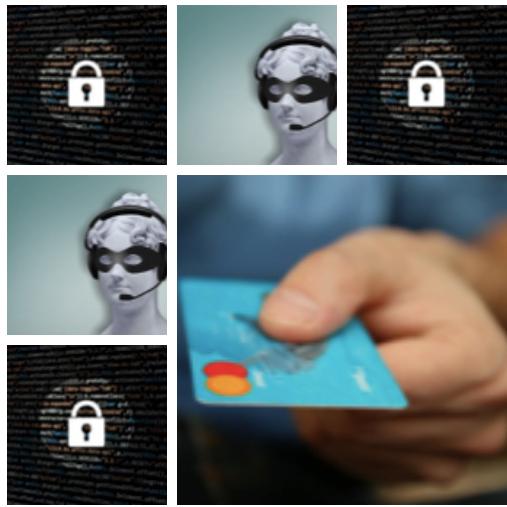 ¿A quién das tus datos de la tarjeta?
