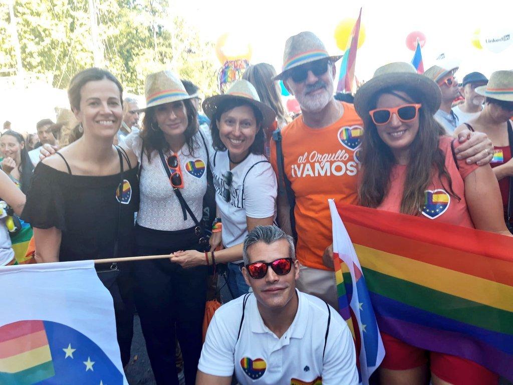PP y Vox condenan las agresiones a Cs Majadahonda el Día del Orgullo Gay en Madrid 2019