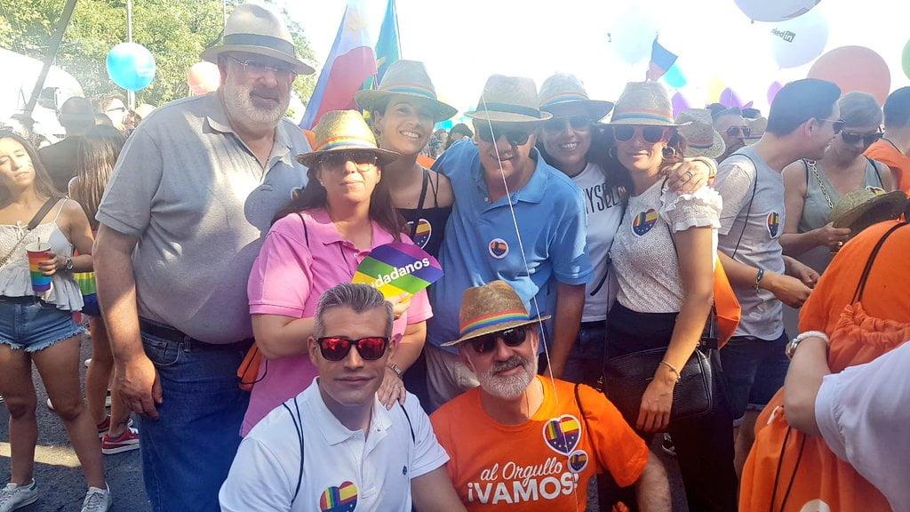 """Cs Majadahonda denuncia agresiones en el """"Orgullo Gay 2019"""": """"los violentos nos tiraron hasta orina"""""""