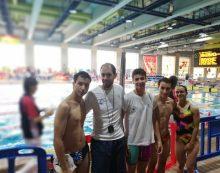 Deportes Majadahonda: Waterpolo (Terrassa y Lloret), Natación (Madrid) y Petanca (V. Cañada)
