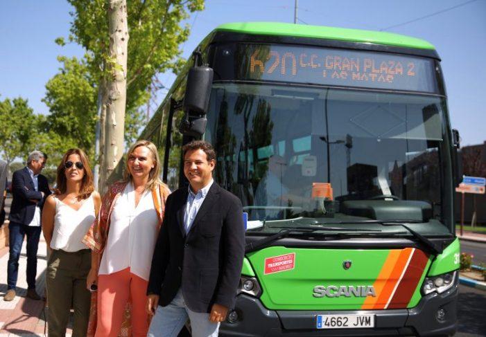 El centro comercial Gran Plaza 2 de Majadahonda consigue un nuevo bus con Las Rozas